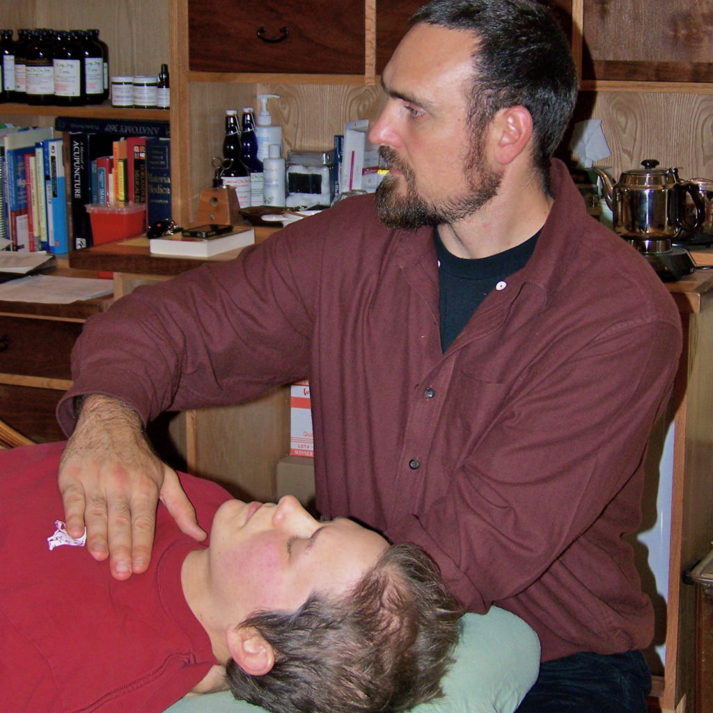 Sylas Navar CranioSacral Therapy Treatment Thousand Lakes Health Center