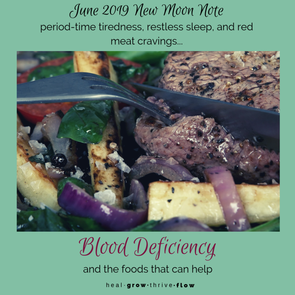 Blood Deficiency and Foods that Help healgrowthriveflow.com
