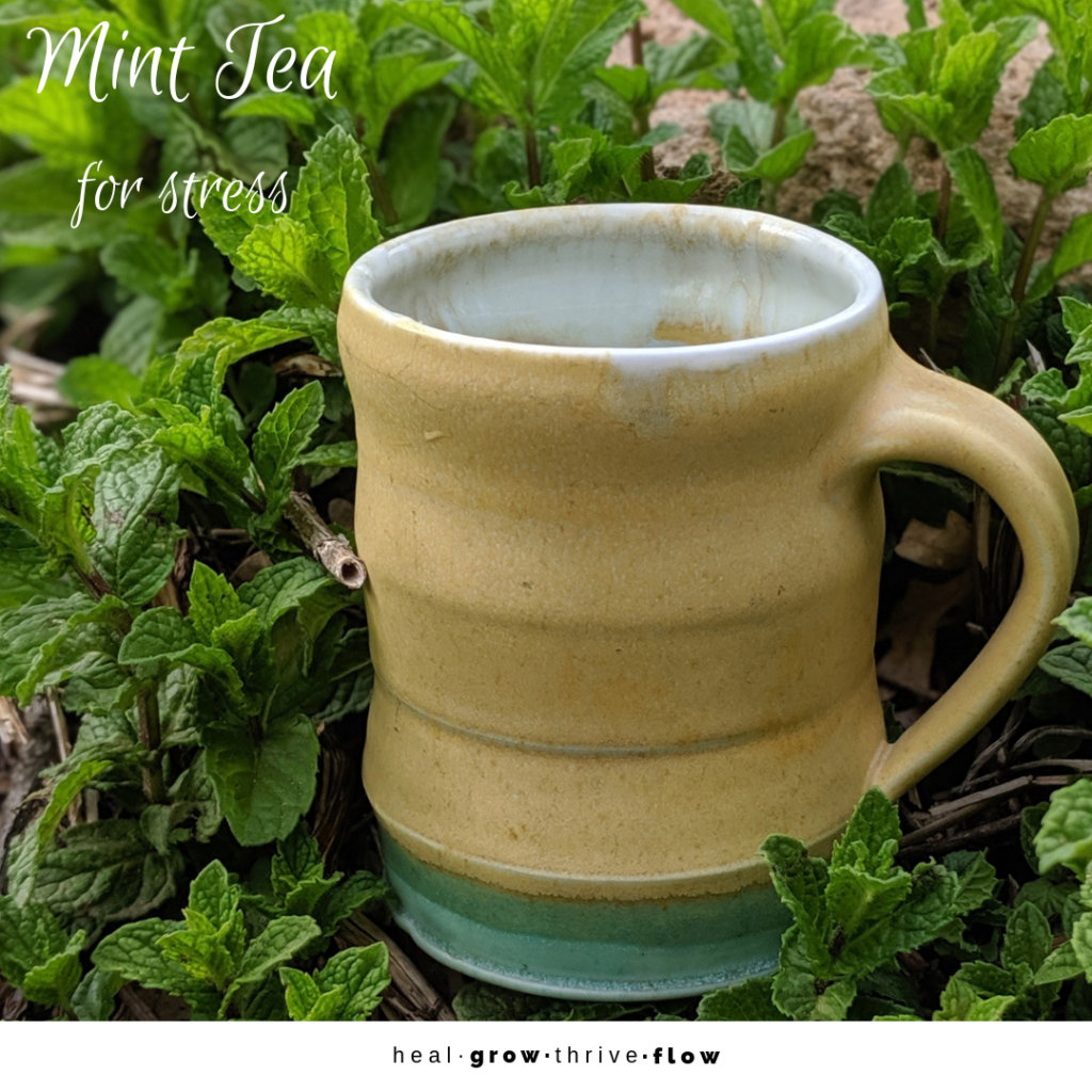 Mint Tea for Stress healgrowthriveflow.com