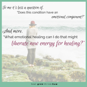 Emotional Healing Question Re-Frame What Emotional Healing Can I Do That Might Liberate New Energy for Healing by Leilani Navar healgrowthriveflow.com