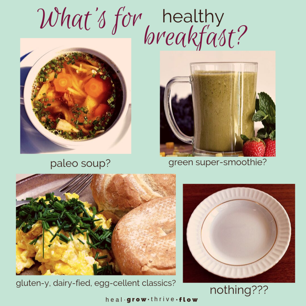 What's for breakfast? by Leilani Navar healgrowthriveflow.com